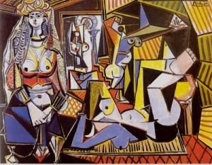 ピカソ『アルジェの女たち』